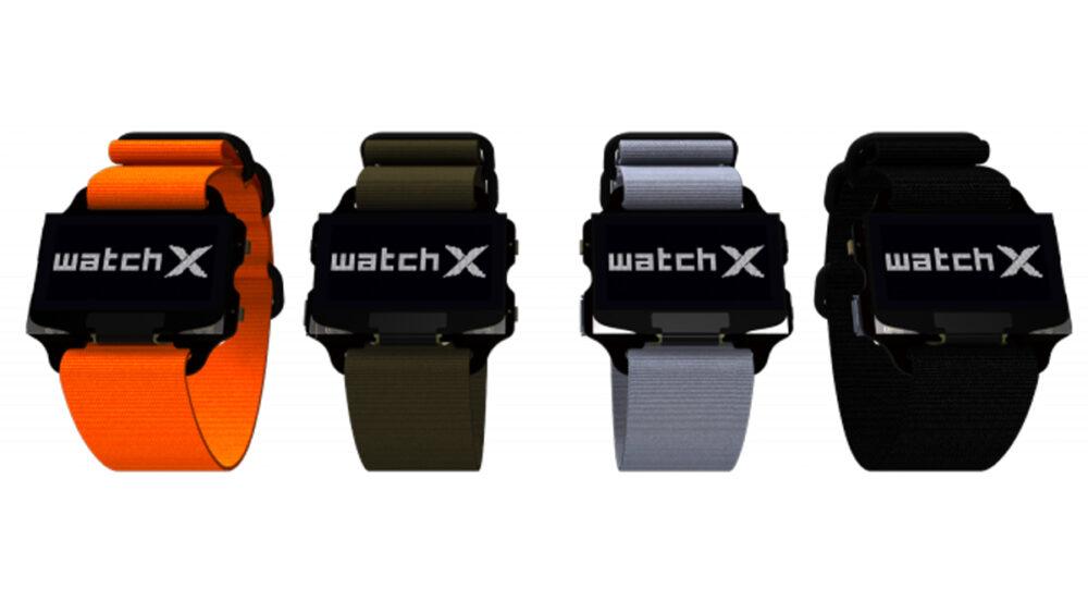 WatchX is a new programmable wrist wearable.