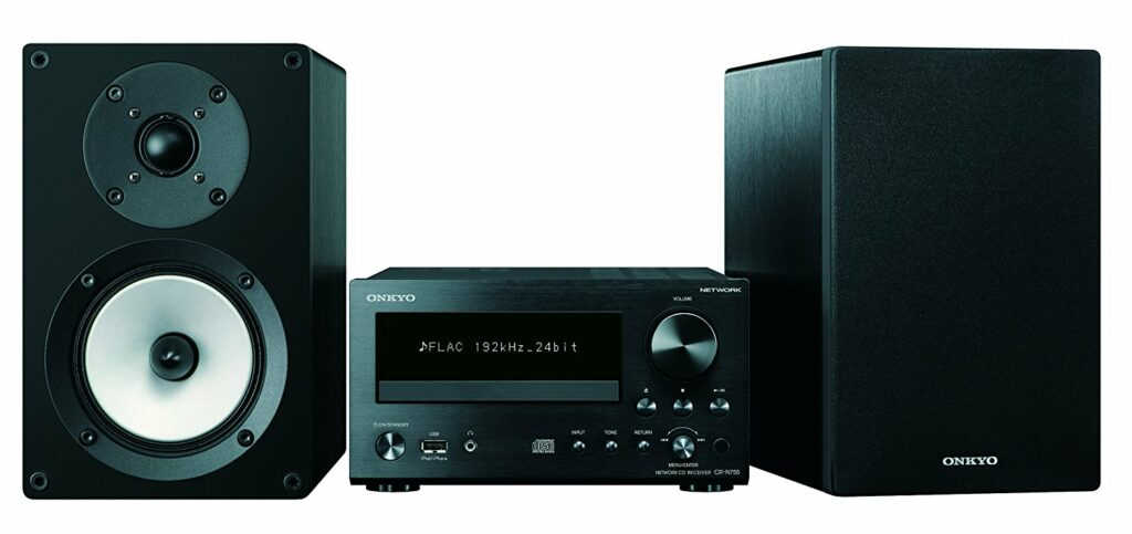 the Onkyo CS-N755 is one of the best compact stereos we've found.