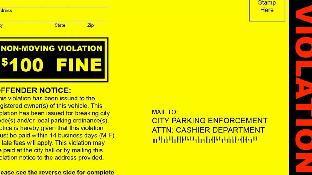 These Fake Parking Tickets are great for freaking out your friends!