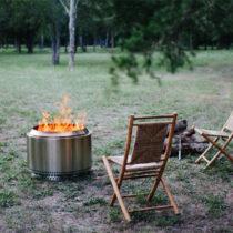 kickstarter fire pit