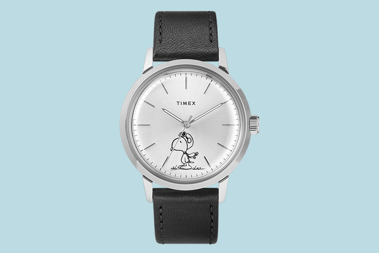 timex snoopy automatic watch