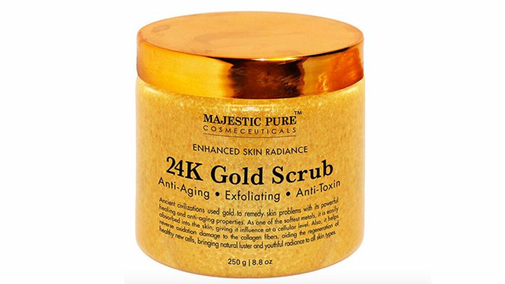 24K Gold Body Scrub